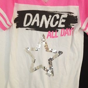 Justice Matching Sets - Justice Active Dance 2 piece set Size 8